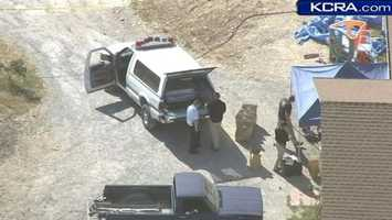 Sunday, April 28, 2013 -- Investigators hold a news conference, saying they have fingerprints and what's believed to be DNA evidence from the crime scene -- the Fowler home on Rippon Road. The manhunt continues. At this point, it involves the sheriff's departments of Calaveras and its surrounding counties, the California Highway Patrol and state Department of Justice.