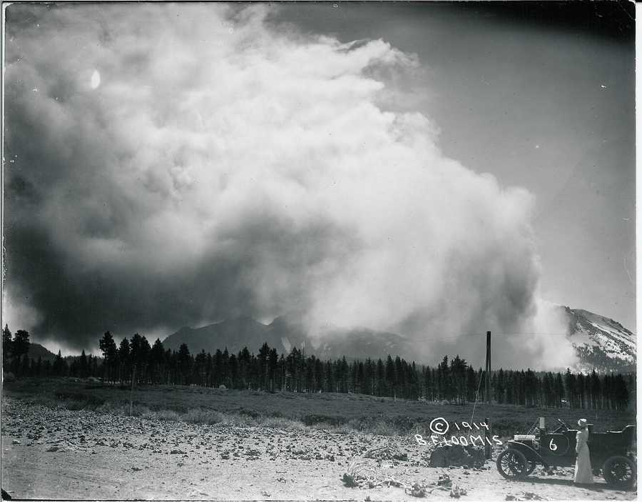The May 22 explosion was the most powerful in a series of eruptions that took place between 1914 and 1917.