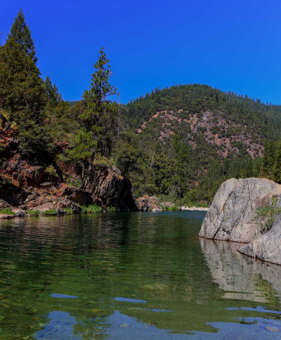 Gold Quartz is a great family swimming hole located a mile or two up from the city of Washington, off Highway 20 in Nevada County.
