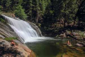 Carlon Falls is part of the South Fork of the Tuolumne River in Yosemite National Park. The hike to the falls is about 4.5 miles, but it's well worth it!