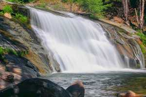 Visitors can also hike to the top of Carlon Falls where there are smaller pools of water. But be careful because the rocks can be very slippery, and the current can flow strongly through the area.