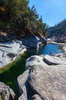 Outside Yuba City, near the South Yuba River State Park, is Lemke's Lagoon with its big holes and nice-sized cliffs.