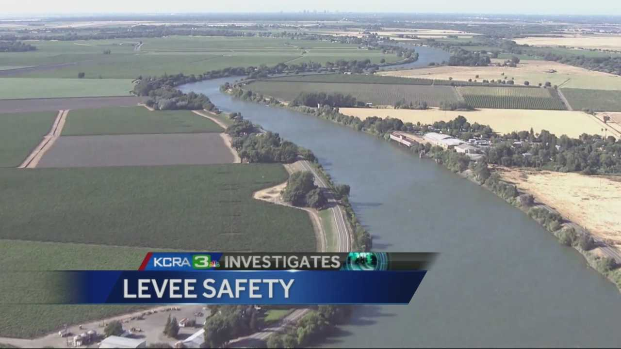 Answers sought on the safety of California levees in the event of an earthquake.