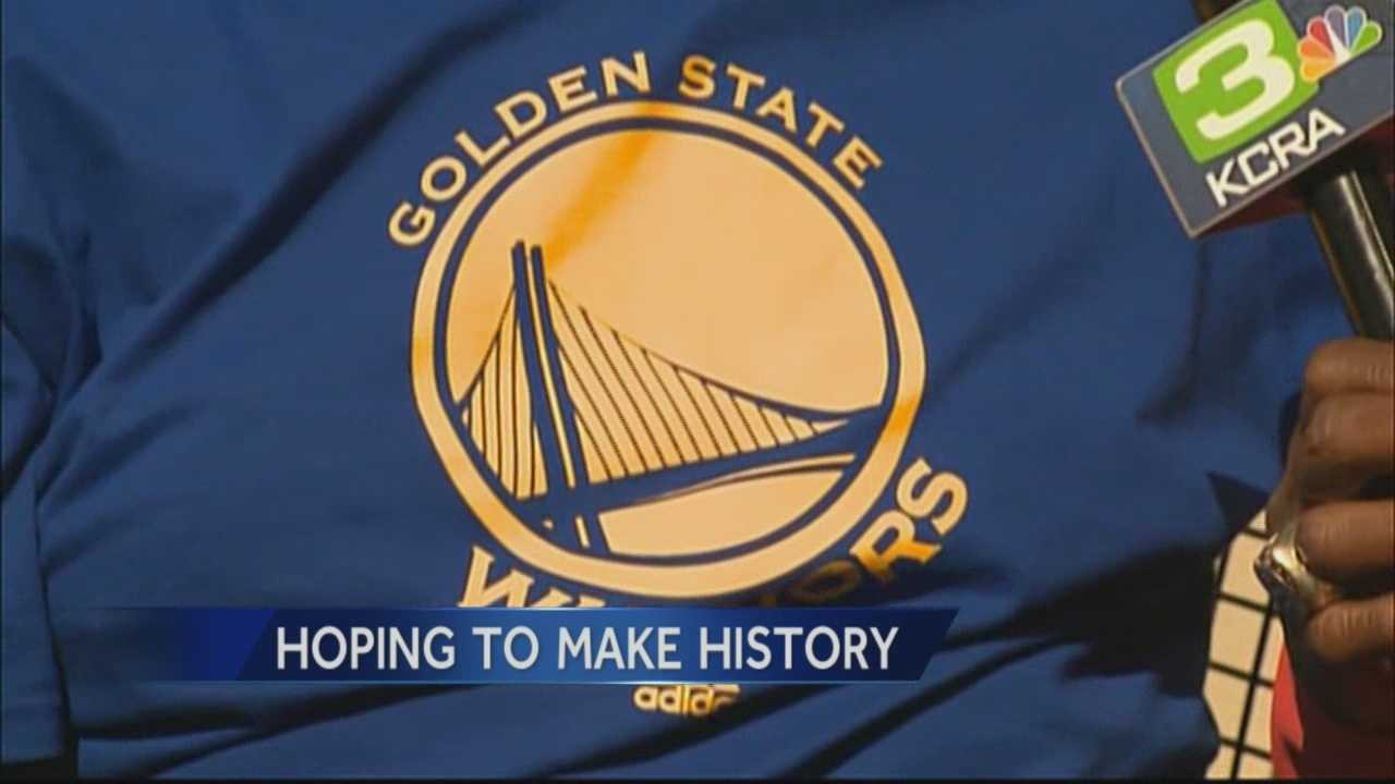 The Golden State Warriors are one win away from going to the NBA Finals for the first time in 40 years.