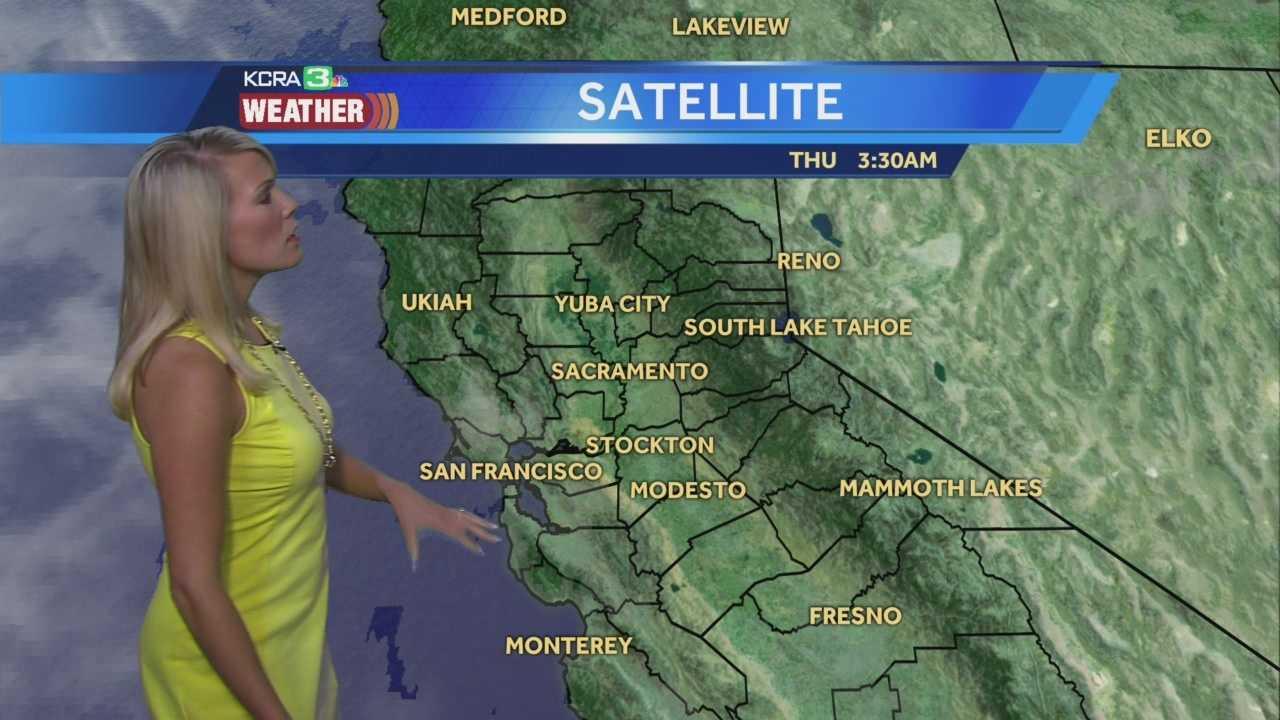 KCRA 3 Weather meteorologist Tamara Berg looks at some warmer weather.