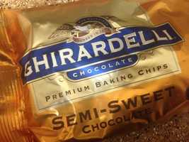 5.) It's worth it to splurge on the nicest chocolate chips possible (like Ghiradelli, which is your best bet at most major grocery chains). Or if you're really feeling adventurous, chop your own chocolate pieces. It makes a difference!