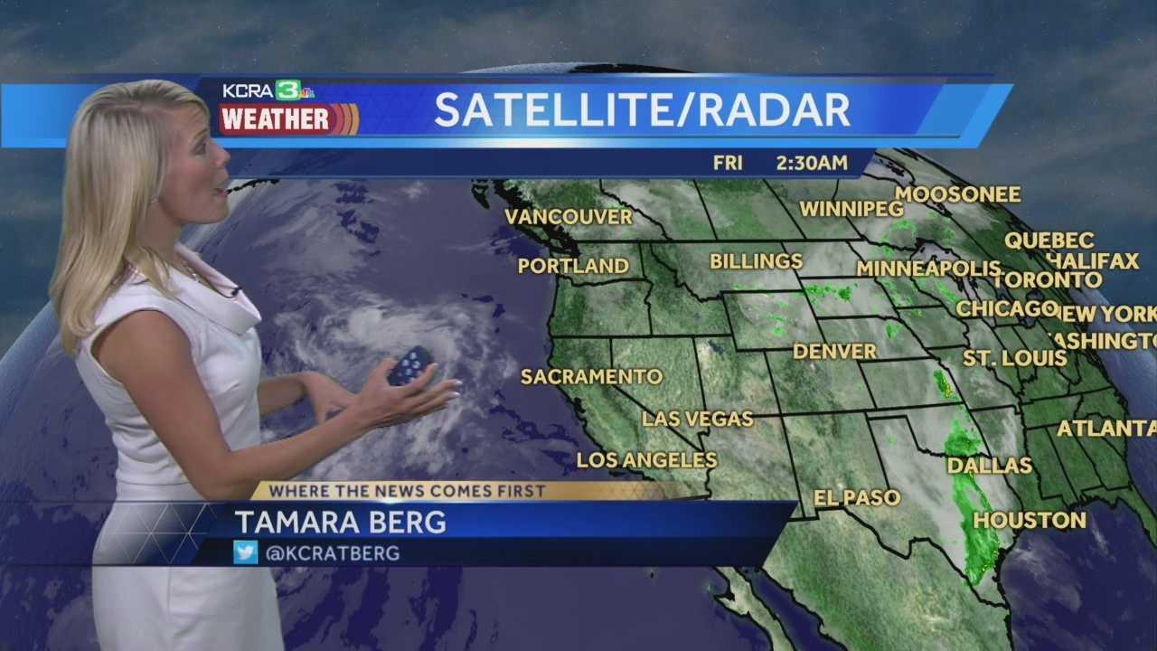 KCRA 3 Weather meteorologist Tamara Berg breaks down the weather changes this weekend.