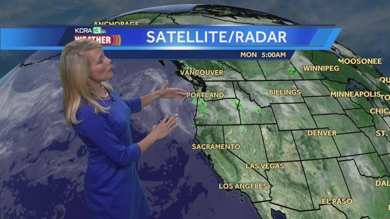 KCRA 3 Meteorologist Tamara Berg shows us what to expect this work week.