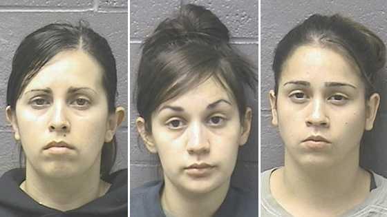 Monica Kelly Rodriguez, 33 of Marysville&#x3B; Maria Aurora Vega, 23 of Yuba City&#x3B; Lorena Christine Ruiz, 25 of Yuba City