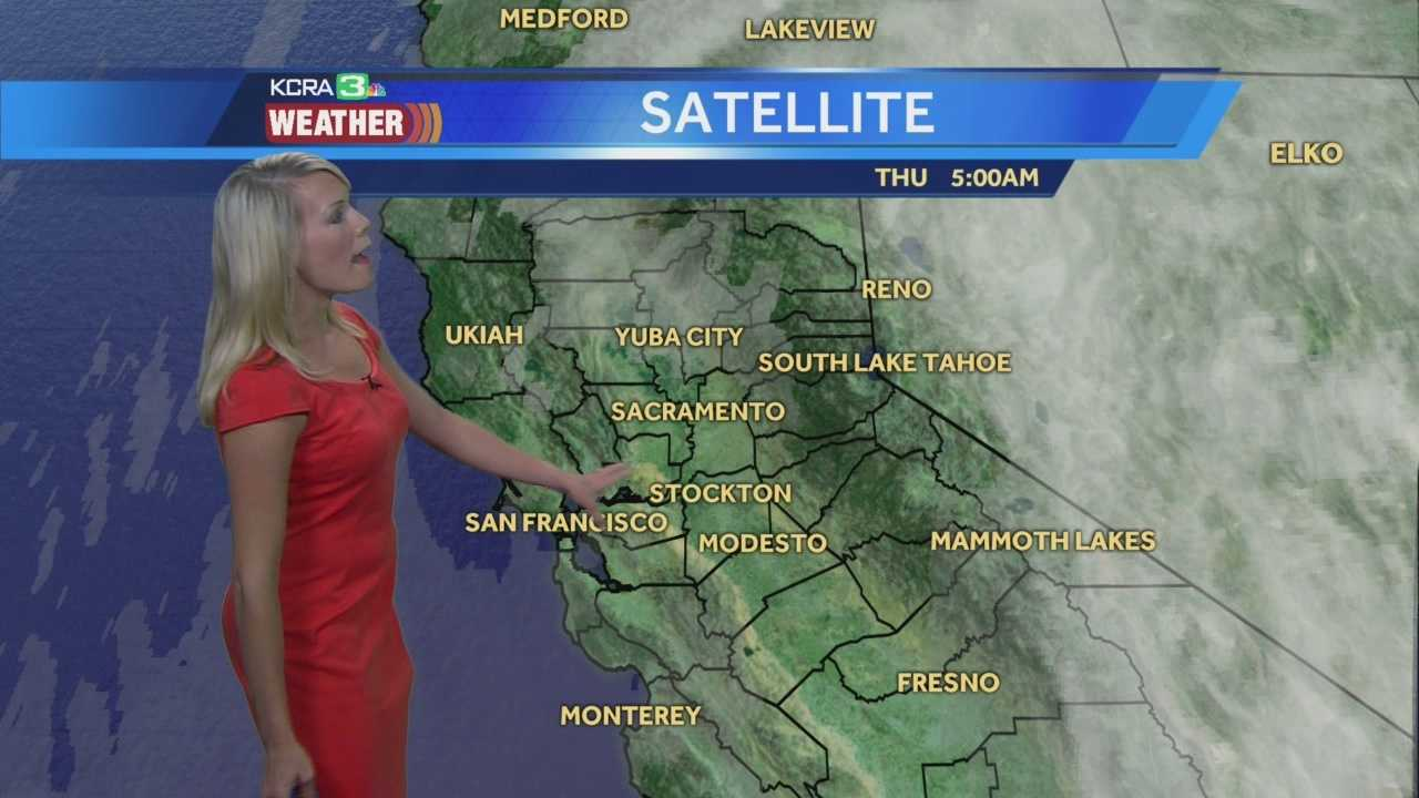KCRA 3 Meteorologist Tamara Berg shows us where some showers will develop this afternoon.