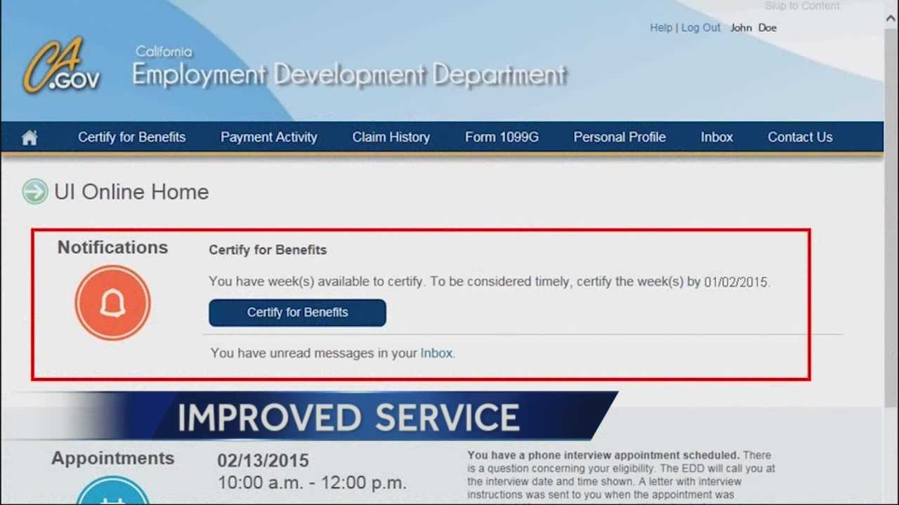 The EDD is launching a new website were people will be able to apply for unemployment benefits.