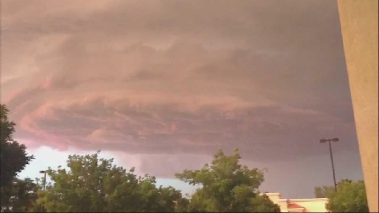 A series of lightning strikes, along with unusual cloud formations, fired off across Northern California skies Friday evening. Take a look at some video from across the region.