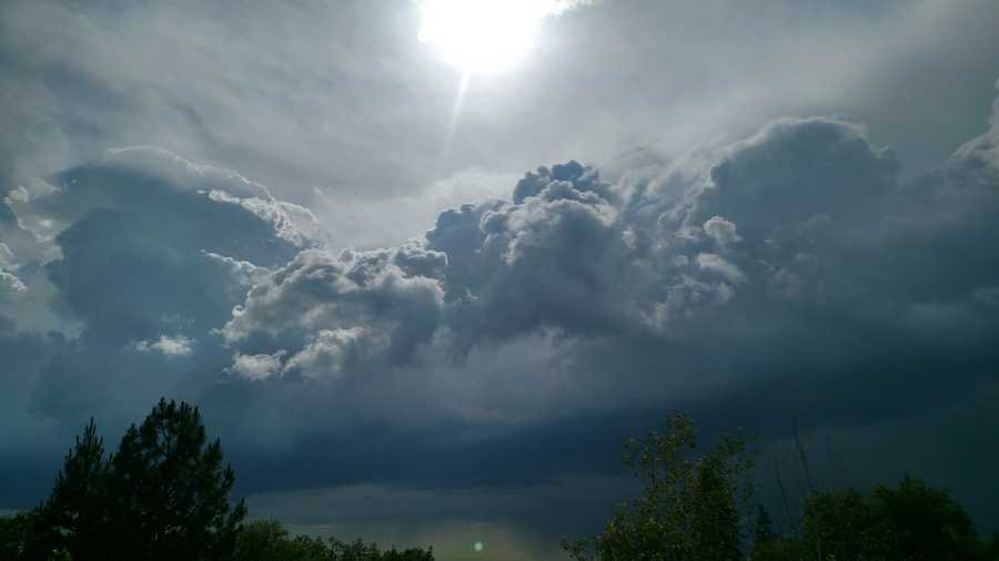 A day after widespread thunderstorms and ominous cloud formations across Northern California, weather conditions revved up once again Saturday afternoon. Here are some photos form Saturday's unusual weather.