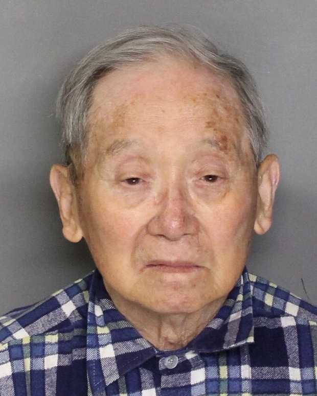 Masaharu Ono, 89, was jailed as a suspect in the death of his 83-year-old wife after telling authorities he found her body inside their home, Sacramento officials said.