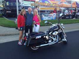 People came out to the Roseville Automall on Friday to donate items and cash for deployed troops.