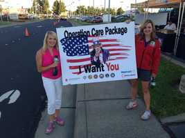 KCRA and the Red Cross Capitol Region teamed up Friday at the Roseville Automall to gather needed items for deployed troops. See photos from the event in this slideshow.