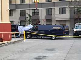 The Alameda County Coroner said four people died at the scene of a balcony collapse in Berkeley, two others died later at the hospital. (June 16, 2015)
