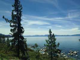 4. Take a hike: The Tahoe area is known for having some breathtaking views all around the lake and the surrounding mountains. Some popular hiking trails include the Emerald Bay Trail, Glacier Meadow Loop, Squaw Valley Trail and the well-known Tahoe Rim Trail.