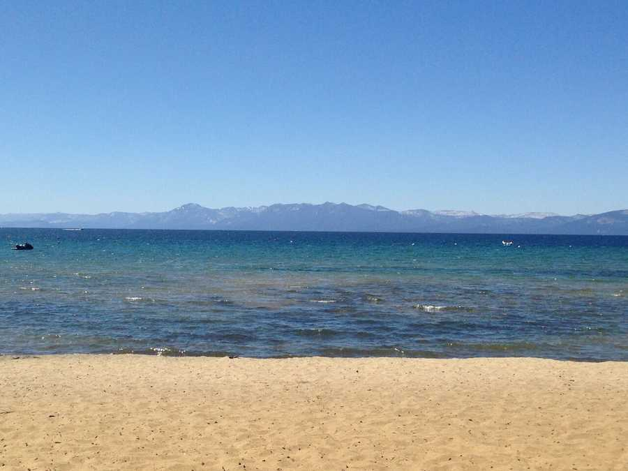 10. Relax on a beach: Who says you have to do anything at all while you're in such a gorgeous setting? Pack up the beach chair, towels and plenty of sunscreen, and relax on one of Lake Tahoe's sandy beaches to breathe in the fresh, clean air.