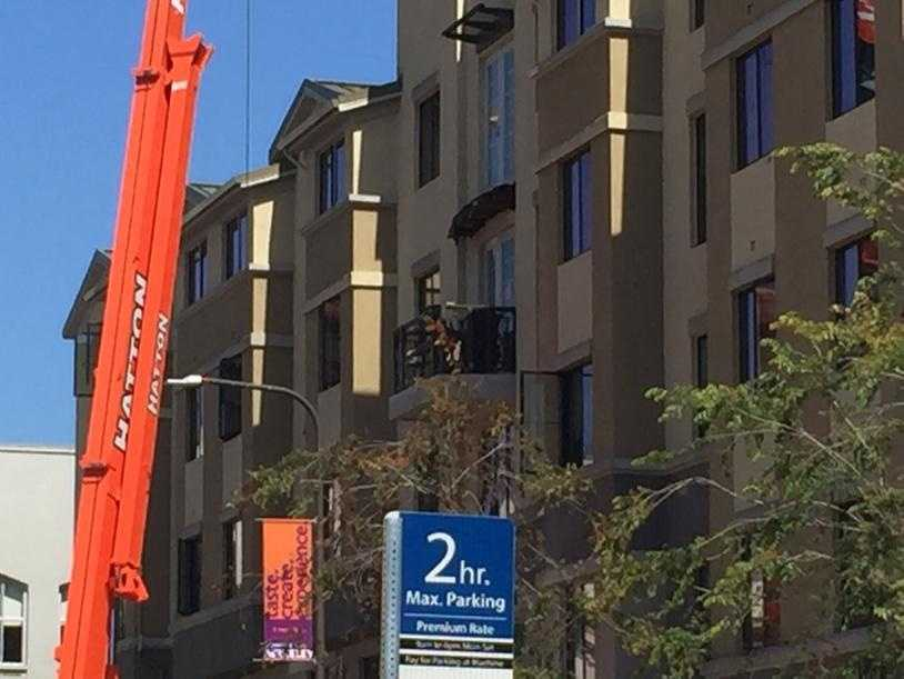 Five of the six students killed when a balcony at a Berkeley apartment complex were on visas from Ireland. (June 16, 2016)
