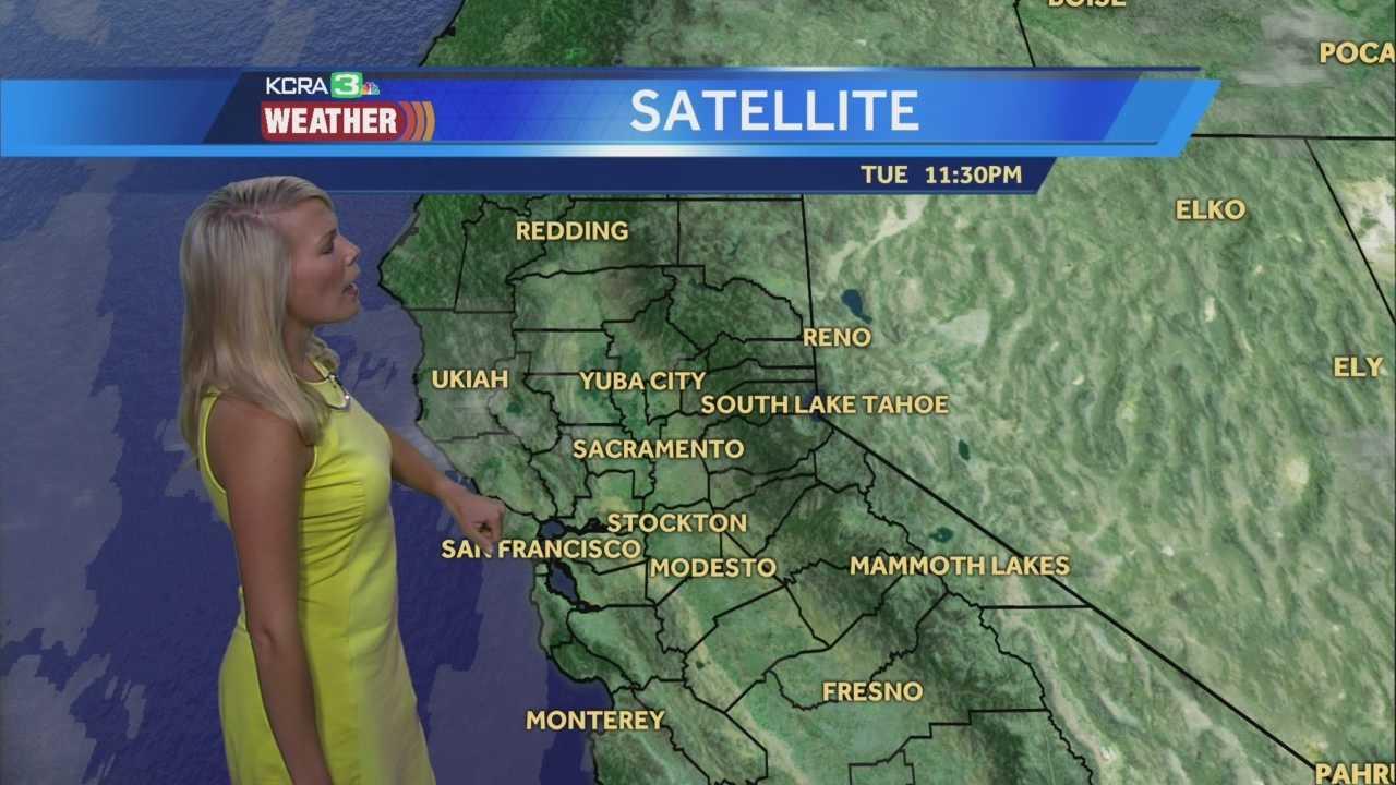 KCRA 3 Weather meteorologist Tamara Berg track today's heat.