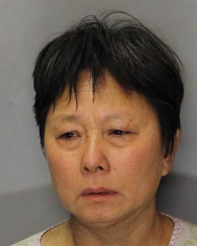 Lichan Li was booked on charges of felony reckless burning of an occupied structure and a misdemeanor theft of power, according to deputies