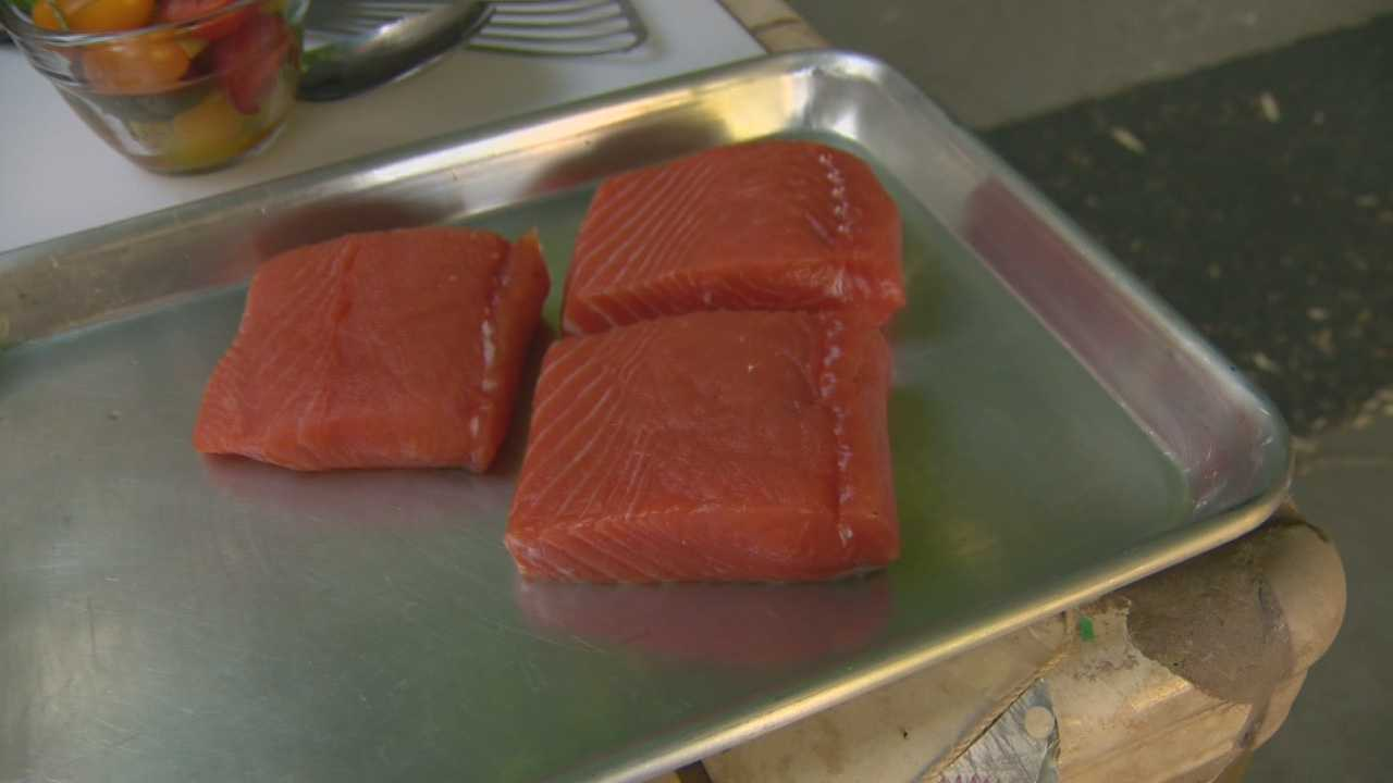 Chef Laura Kenny shares a couple of her favorite recipes for fresh California King Salmon.