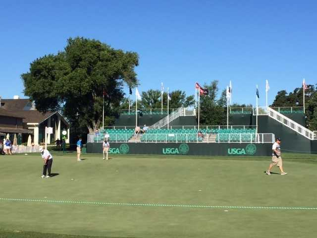 The Sacramento region is excited to host the 2015 U.S. Senior Open at the Del Paso Country Club. The bleachers are set up and ready for the big event, which begins Thursday.