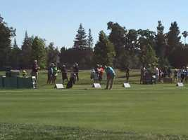 Practice rounds for the golfers began Monday ahead of Thursday's competition rounds at Del Paso Country Club.