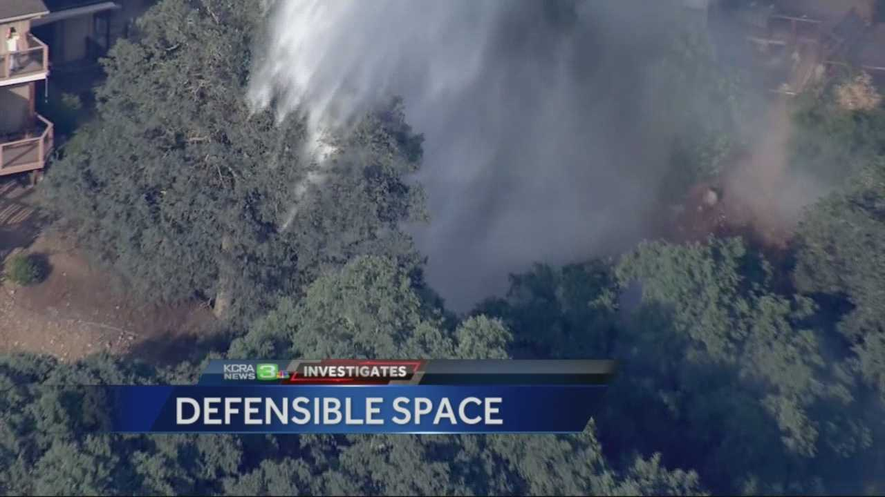 The cost to homeowners who do not heed Cal Fires warning to provide defensible space around their property.
