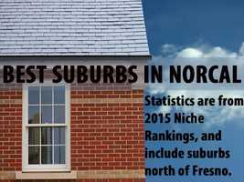 There are many great cities and towns in Northern California, but these 30 suburbs ranked as the best based on livability using an index for weather, safety, schools and access to activities, jobs, housing and transportation, according to 2015 Niche Rankings. Find out which California cities north of Fresno came out on top.