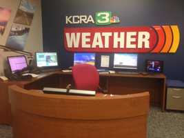 11.) Harry Geise was hired as KCRA 3's main weatherman in the mid-1960s. While he used information coming out of a weather bureau in Suitland, Maryland, some say his forecasts were accurate enough that almost every farmer in the Sacramento Valley listened to his reports.