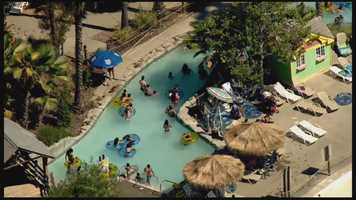 At Sacramento's Cal Expo, Raging Waters park officials are working to fix a broken pump in the popular wave pool as temperatures heat up.