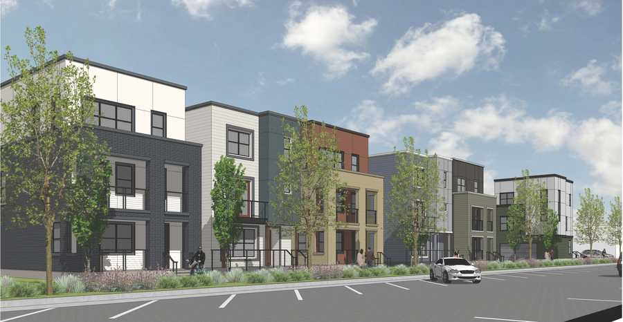 The Creamery is a housing development that will consist of 117 single-family homes at the intersection of 10th and D Streets.