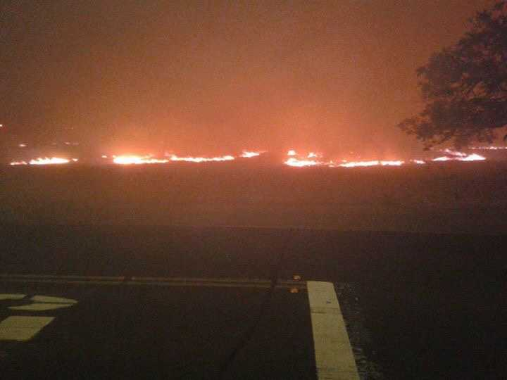 Fueled by gusty winds, the so-called Pena Adobe Fire that broke out on the Fourth of July in Vacaville forced evacuations and threatened structures.
