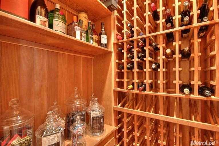 The home also includes a wine cellar.