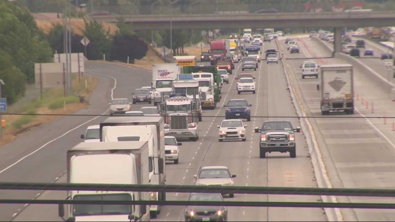 "Drivers using eastbound Interstate 80 through the ""Across the Top"" construction zone could experience some serious delays and backups Friday night into Saturday morning, but the reason could be cause for celebration."