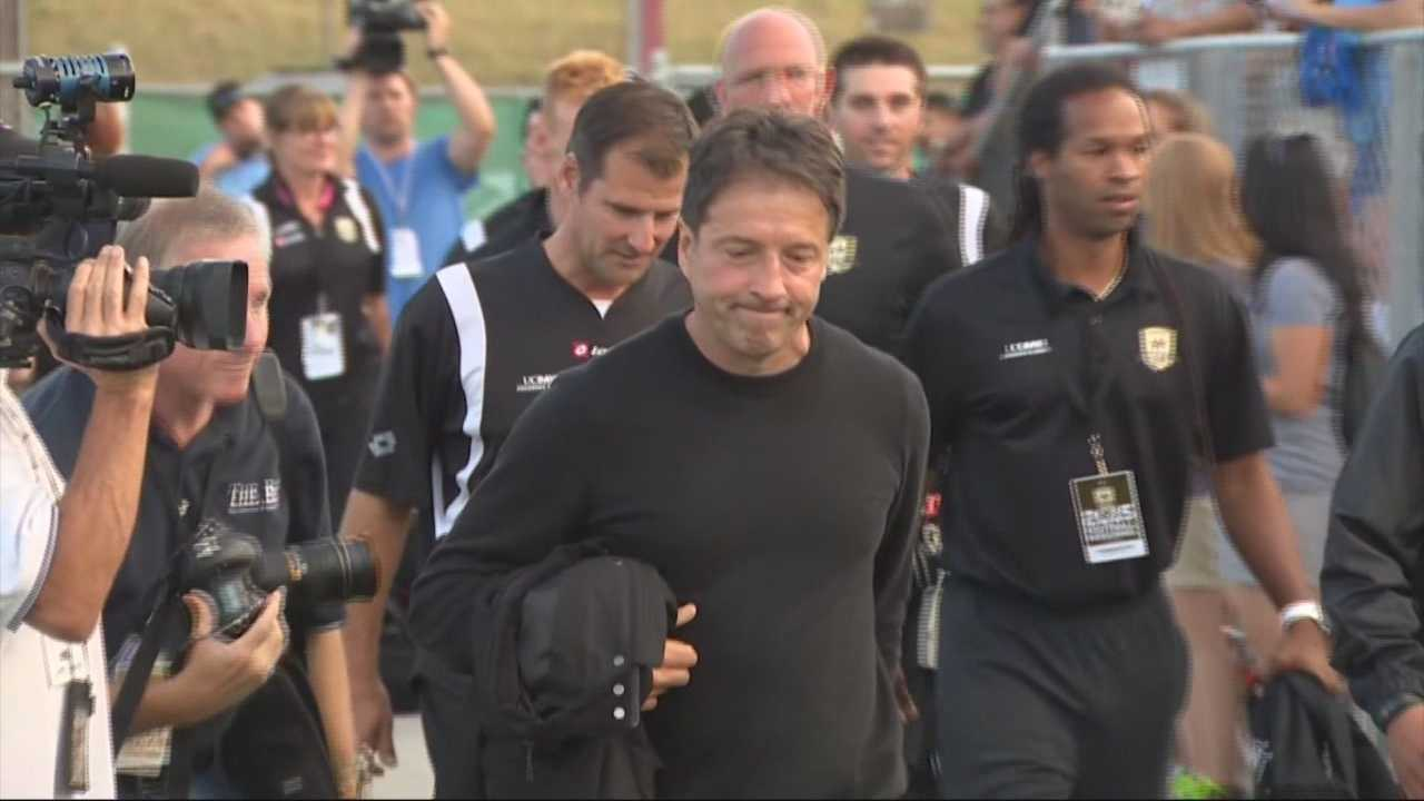 "Fans and players honored Sacramento Republic FC coach Predrag ""Preki"" Radosavlijevic Saturday night's game which was his last as coach."