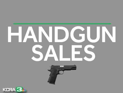 How many guns are sold in California? Here's a year-by-year breakdown of dealer record of sale for handguns. Source: California Department of Justice