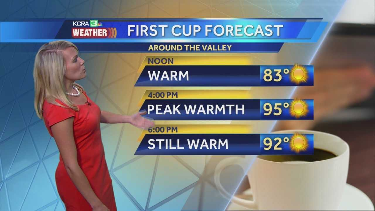 KCRA 3 Weather meteorologist Tamara Berg explains which areas will experience the warm up this week.