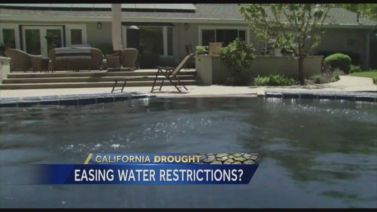 West Sacramento's City Council will meet to consider easing water restrictions on its residents even in the midst of the drought.