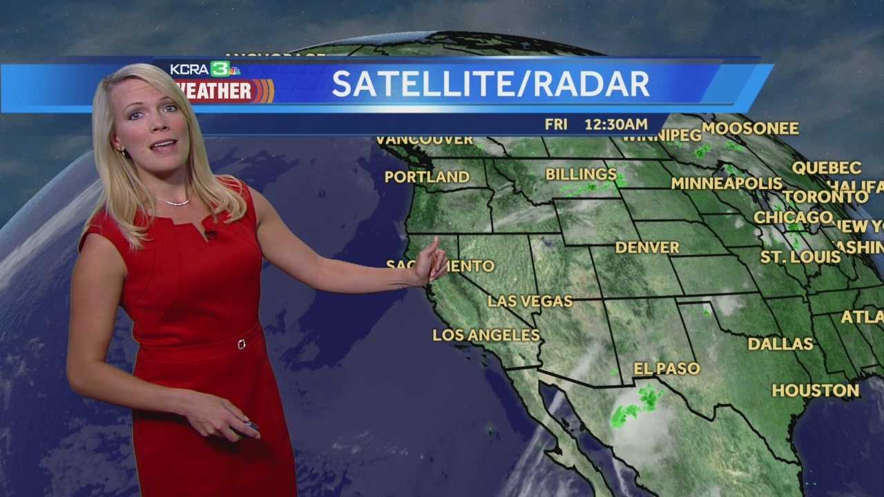 KCRA 3 Meteorologist Tamara Berg explains the changes to expect for the weekend.
