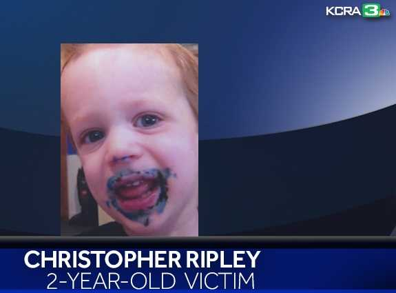 Christopher Ripley died at a Modesto-area hospital on Oct. 2, 2014 after being treated for head injuries. Investigators said Christopher was in the care of Martin Martinez when he sustained the injuries. An arrest warrant was issued for Martin in connection with the death after Saturday's murders.