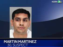 Martin Martinez, 30, was arrested early Sunday morning in connection with the five homicides, and death of Christopher Ripley, as he left a San Jose movie theater with his father. Police said Monday they were preparing to formally charge him with homicide in Christopher's death when the five murders happened Saturday afternoon in the Modesto home he used to share with Amanda Crews.
