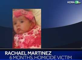 One of the children found dead was 6-month-old Rachael Martinez. She was the daughter of Dr. Amanda Crews and Martin Martinez.
