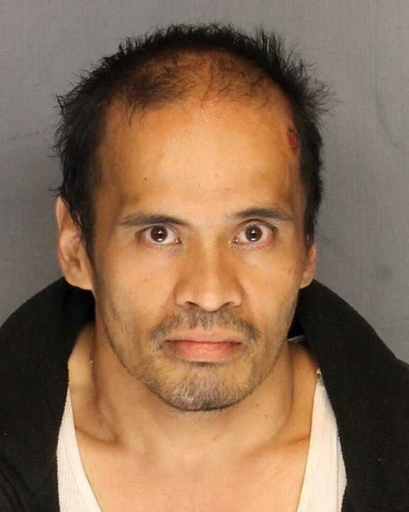 Cliff Narvas was arrested on charges of attempted homicide of peace officers and possession of explosives, police said.