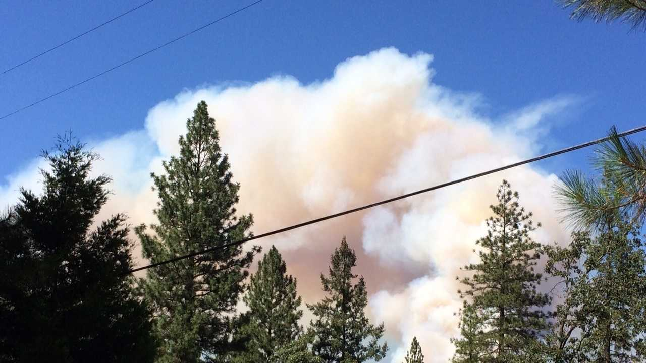 This photo was taken from the Alpine Meadows subdivision near Interstate 80 and Magra Road.
