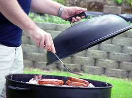 7. Use your grill. Who doesn't like a home-cooked meal? But instead of using the hot oven or stove during the summer, take those cooking skills to the barbecue.