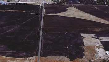 The blaze charred 430 acres near Elverta.