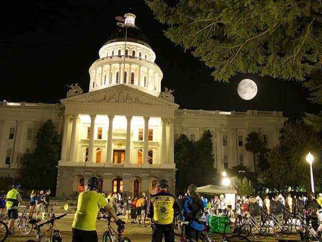 What: Lunar Lunacy RideWhere: California State Capitol - West StepsWhen: Sat 7pm-11:30pmClick here for more information on this event.